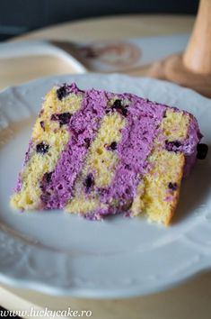 Tort Purple cu afine - Blueberry Purple cake