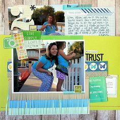 Add Tassels and Fringe to Your Scrapbook Pages for Fun Texture | Katie Scott | Get It Scrapped
