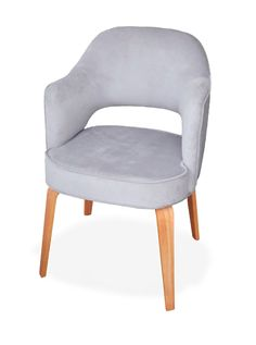 sillas, sillones de diseño escandinavo, saarinen, un cuerpo