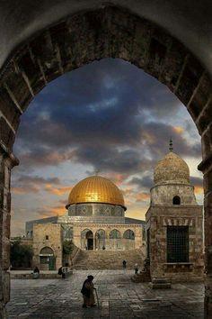 Dome of the Rock #El Aqsa #Palestine