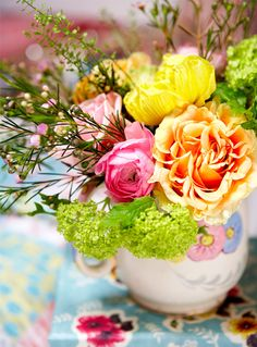 fresh flowers....