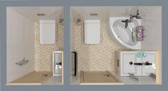 Фотография: Офис в стиле Лофт, Ванная, Перепланировка, планировка санузла, санузел в двухкомнатной квартире дома серии 83, перепланировка маленького санузла, планировка для маленького санузла – фото на InMyRoom.ru