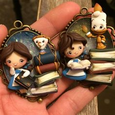 Decals For Porcelain China Polymer Clay People, Polymer Clay Disney, Polymer Clay Figures, Polymer Clay Dolls, Polymer Clay Miniatures, Polymer Clay Pendant, Polymer Clay Charms, Polymer Clay Jewelry, Clay Projects