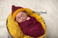 "Or to be cocooned in their future house colors. | 19 ""Harry Potter"" Babies That Are Absolute Magic"