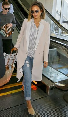 Jessica Alba se despide de Nueva York