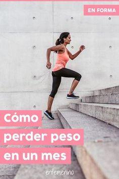 Perder peso de forma #saludable en un mes es posible. ¡Toma nota! #adelgazar #enforma #fit