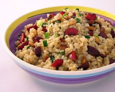 Brown Rice Pilaf with Cherries http://ow.ly/kCbJM