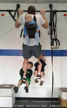 Go Crossfit dads, go!