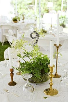 Eclectic Wedding Tablescape