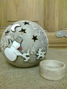 Teelicht von www.ys-keramik.de auf DaWanda.com