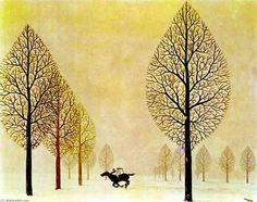 """(Rene Magritte, """"René Magritte was no doubt disappointed that, aside from the small circle of his kindred spirits among the Surrealists, the world needed over a quarter of a century to discover that his work has both philosophica Rene Magritte, Magritte Paintings, Max Ernst, Surrealism Painting, Painting Art, Art Moderne, Conceptual Art, Oeuvre D'art, Lovers Art"""