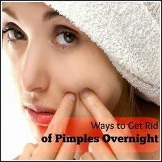 Was to Get Rid Of Pimples Overnight | Medi Tricks