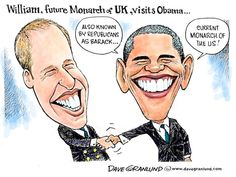 William and Barack - both royalty?