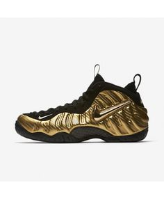 010c85cd224 Nike Air Foamposite Pro Metallic Gold Black White Black 624041-701 Air  Foamposite Pro