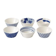 Set de 6 Coupelles en porcelaine Pacific  - Royal Doulton