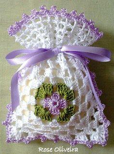 bolsa para guardar ramitas de lavanda