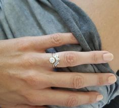 Opal Wedding Ring Opal Wedding Band Opal Sun Ring Rose Gold