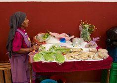 Vendor at the San Juan de Dios market in San Miguel de Allende, Mexico. #mercado