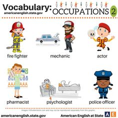 Jobs and Occupations: English Language | Music Videos for