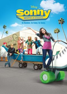 I absolutely loved Sonny With a Chance. That was laugh-out-loud funny.