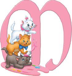 M Aristocats Alphabet (Oh My Alfabetos!)