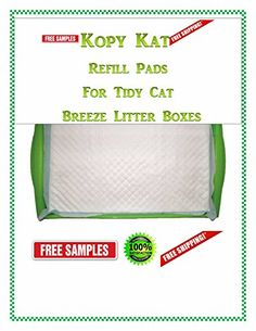 40ct Economical Kopy Kat for Tidy Cat Breeze Litter Box Generic Replacement Pads Same Quality *** Read more  at the sponsored product link.