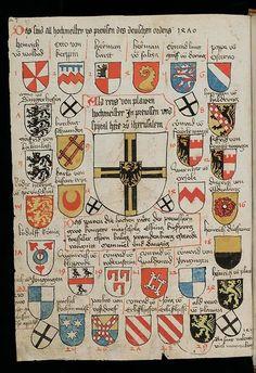 Blasons des chevaliers teutoniques
