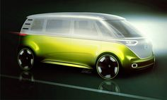VW's I.D. Buzz Concept Is Another Electric Microbus For The Future