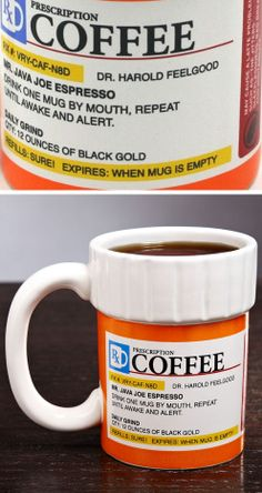 Prescription Coffee Mug ♥