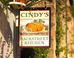 Cindys Backstreet Kitchen Menu