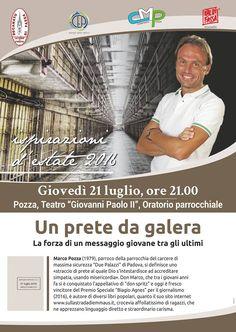 Serata con don Marco Pozza, un prete da galera