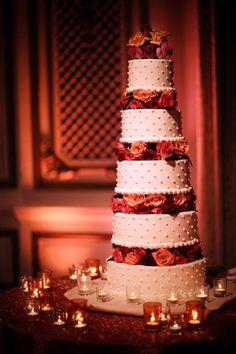 5 étages #weddingcake #wedding #cake #dessert #mariage