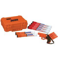 Orion 12-Gauge Aerial Flare Gun Handheld Flare and Smoke Signal Kit - Overton's ($140)