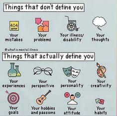 Mental And Emotional Health, Mental Health Matters, Mental Health Awareness, Motivacional Quotes, Positive Self Affirmations, Self Care Activities, Self Improvement Tips, Self Development, Self Esteem