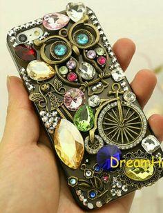 Steam punk phone case