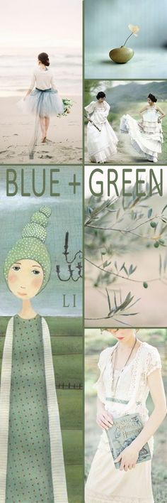 Lu's Inspiration ღ green and blue
