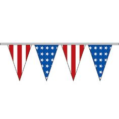 Premier Polyester Pennant Strings - Deluxe Americana