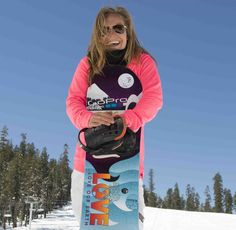 Jamie Anderson will compete at the Olympics in Snowboard Slopestyle. Quick chat with her about the Winter Games, her mom, living life outside and to the fullest.