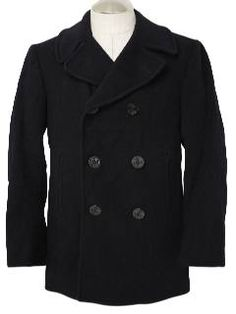 Pea Coat (Army Navy Store)...that s where I got my first 692094ec022