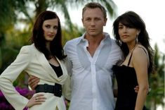 Daniel Craig, Caterina Murino and Eva Green in Casino Royale