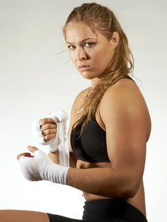 Ronda Rousey - Now tell me a woman can't break a man's jaw. It's not as simple as comparable strength, it's the will that prevails.--Wendell