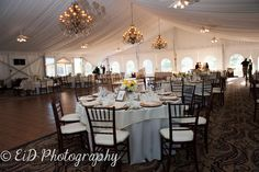 Banquet hall at West Hills Country Club Hudson Valley Photography Wedding Photography Hudson Valley photographer Photographed by Elissa I. Davidson