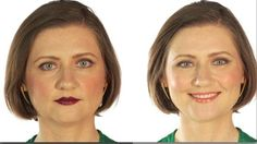 Style Mistakes That Age You @Shine.yahoo.com  Check how make up turns her look. #MakeoverBar