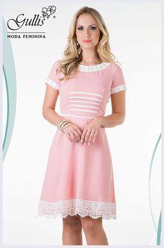 Vestido em crepe com forro detalhado em cotton e renda - Kauly: http://www.gullislingerie.com.br/alto-verao-2016-vestido-crepe-forro-detalhado-cotton-renda-kauly