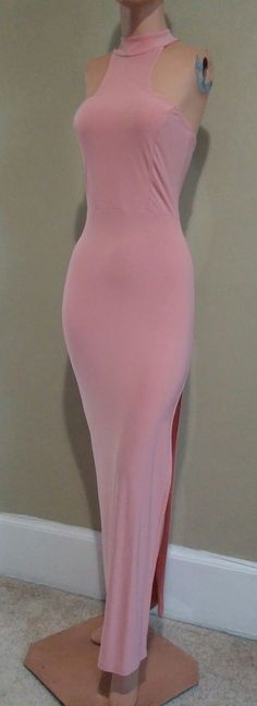 Cool Great NWOT Sz 4 XS BOOHOO NIGHT Open Shoulder High Neck Bodycon Maxi Dress 2017 2018 Check more at http://fashion-look.top/gallery/great-nwot-sz-4-xs-boohoo-night-open-shoulder-high-neck-bodycon-maxi-dress-2017-2018/