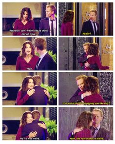 Barney and Robin HIMYM flashback moment, Awww.