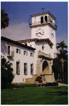 Santa Barbara County Courthouse. The clock tower renovation is complete. http://sbseasons.com/2015/08/courthouse-clock-tower-renovation-complete/ #sbseasons #sb #santabarbara #SBSeasonsMagazine To subscribe visit sbseasons.com/subscribe.html #SBCourthouse