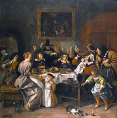 Jan Steen : Driekoningenfeest