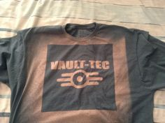 Fallout VaultTec bleached shirt by Achromatees on Etsy, $15.00
