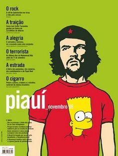 Che Guevara and Bart Simpson. Piauí (Brazil), November 2006